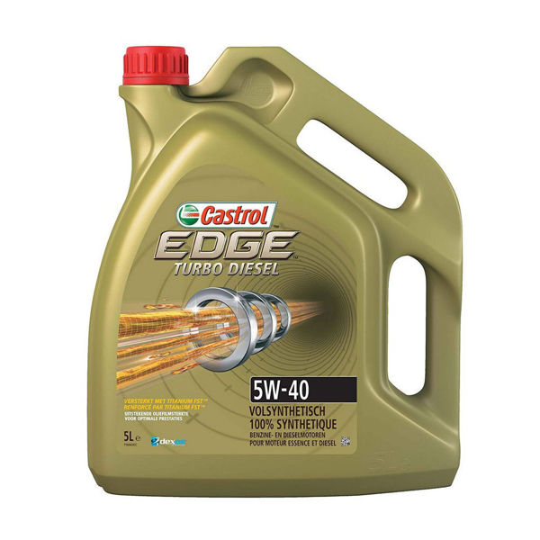 Picture of CASTROL EDGE TURBO DIESEL 5W40 5LT