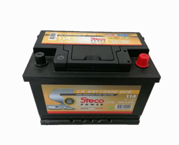 Picture of BATERIA STECO EFB114 70Ah 680A